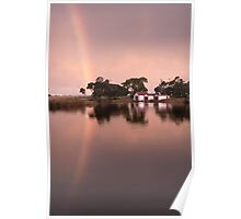 Anglesea River Rainbow Poster