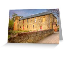 The Hahndorf Academy - Hahndorf, The Adelaide Hills, SA Greeting Card