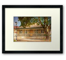 Cottage Dreams - Hahndorf, The Adelaide Hills, SA Framed Print