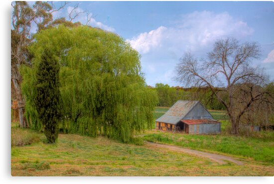 Old Barn - Beerenberg, Hahndorf, The Adelaide Hills, SA by Mark Richards