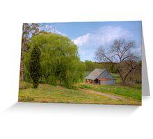 Old Barn - Beerenberg, Hahndorf, The Adelaide Hills, SA Greeting Card