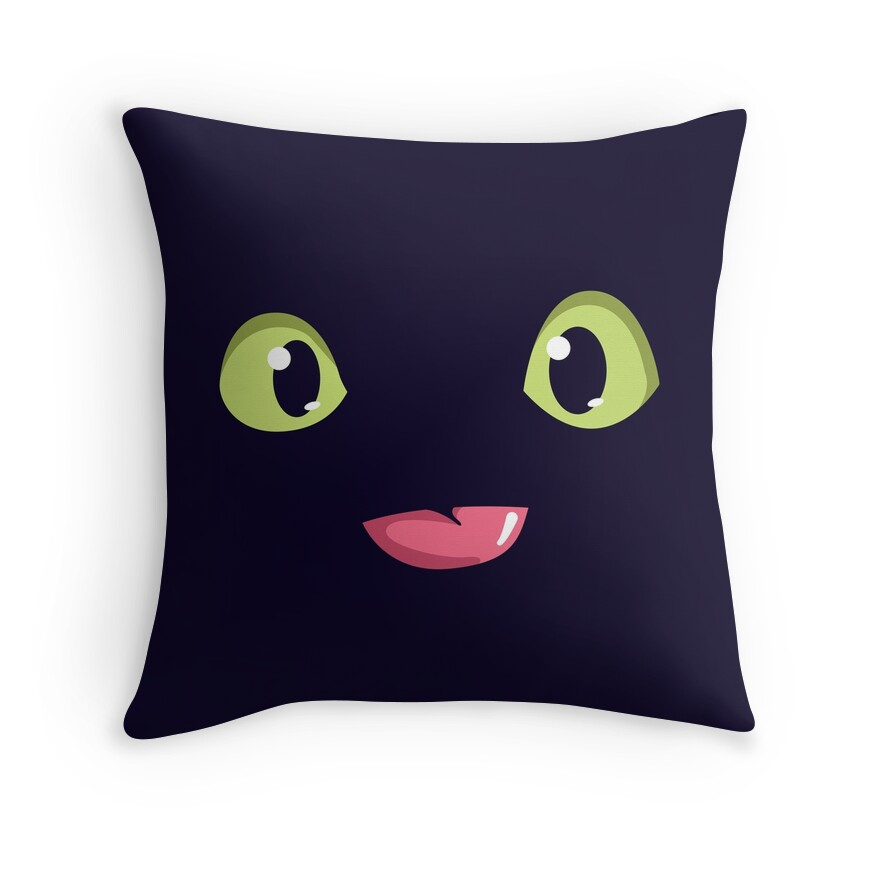 """""""Toothless (How to Train Your Dragon) T-Shirt"""" Throw ..."""