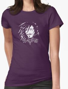 Savant - White and black Womens Fitted T-Shirt