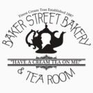 "BBC Sherlock ""Cream Tea"" Bakery & Tea Shop  by curiousfashion"