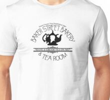"BBC Sherlock ""Cream Tea"" Bakery & Tea Shop  Unisex T-Shirt"