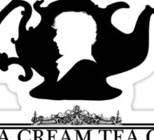 """BBC Sherlock """"Cream Tea"""" Bakery & Tea Shop  Sticker"""