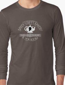 """BBC Sherlock """"Cream Tea"""" Bakery & Tea Shop (Dark) T-Shirt"""