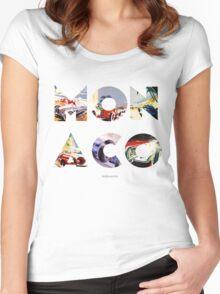 Monaco Grand Prix Women's Fitted Scoop T-Shirt