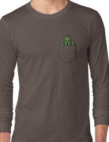 Little Pocket Cactuar Long Sleeve T-Shirt