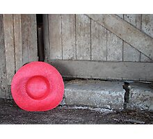 The Red Hat - Series 01 Photographic Print