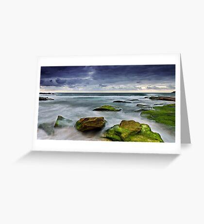 Sullen Dawn Greeting Card