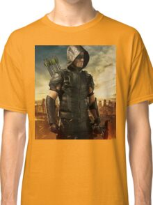 Arrow Season 4 | Green Arrow | Oliver Queen | Stephen Amell Classic T-Shirt