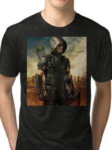 Arrow Season 4 | Green Arrow | Oliver Queen | Stephen Amell Tri-blend T-Shirt