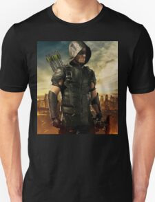 Arrow Season 4 | Green Arrow | Oliver Queen | Stephen Amell Unisex T-Shirt