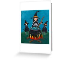 The Familiars Greeting Card