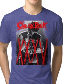 ONE OK ROCK! TAKA!! 35XXXV Tri-blend T-Shirt