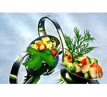 Matie Salad Photographic Print