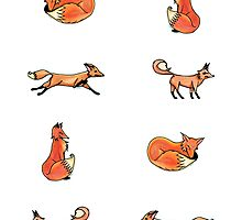 All the Foxes by Amy-Elyse Neer