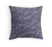 Moon Emoji Pattern  Throw Pillow