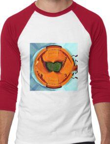 Abstract farm equipment Men's Baseball ¾ T-Shirt