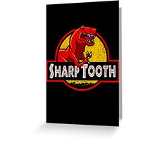 Sharp Tooth T-Shirt (Jurassic Park) Greeting Card