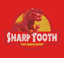 Sharp Tooth T-Shirt (Jurassic Park) One Piece - Long Sleeve