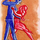 dance with me by Art By Misty