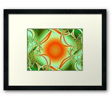 Harvest Sun Framed Print
