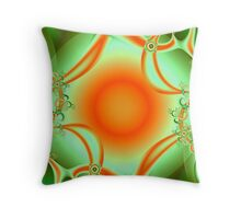 Harvest Sun Throw Pillow