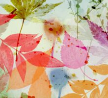 Fall impression Sticker