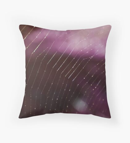 Web Browsing Throw Pillow