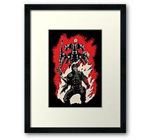 Hellboss Framed Print