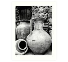 Ponderous Pottery Art Print