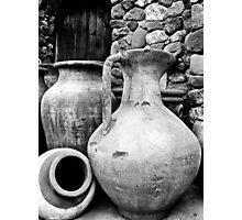 Ponderous Pottery Photographic Print
