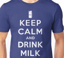Keep Calm and Drink Milk Unisex T-Shirt