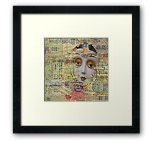 Tattered Illusions Framed Print