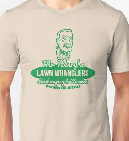 Bottle Rocket Lawn Wranglers  Unisex T-Shirt