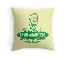 Bottle Rocket Lawn Wranglers  Throw Pillow