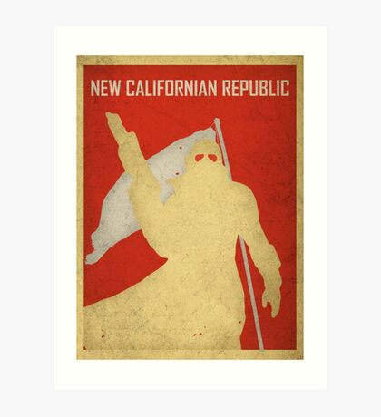 New Californian Republic - Poster Art Print