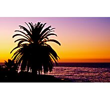 San Diego Sunset Photographic Print