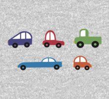 tiny cars One Piece - Long Sleeve