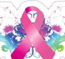 Breast Cancer Awareness Rainbow Sticker