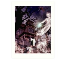 The Haunting of Blackthorne Manor Art Print