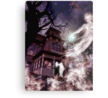 The Haunting of Blackthorne Manor Metal Print