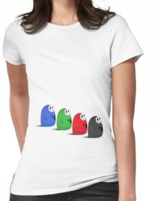 RGB & Desaturated Womens Fitted T-Shirt