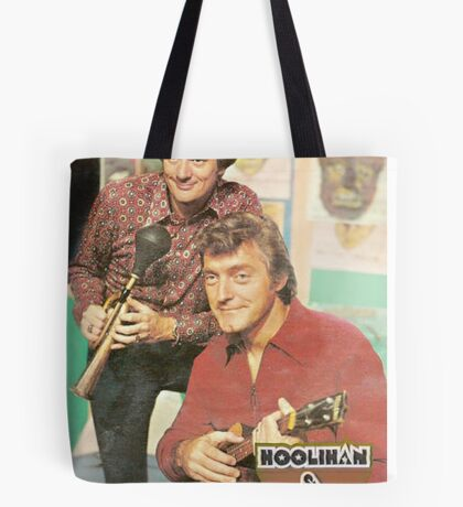 Hoolihan and Big Chuck T-shirt Tote Bag