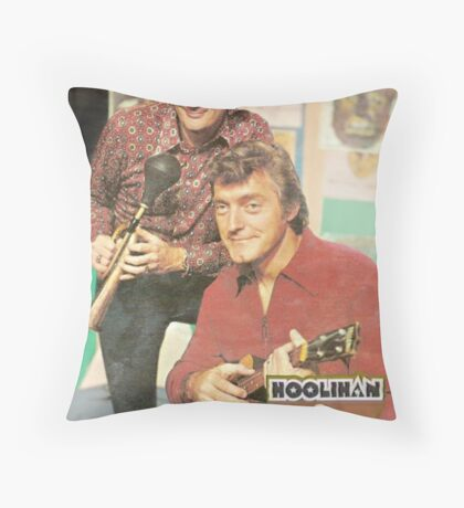 Hoolihan and Big Chuck T-shirt Throw Pillow