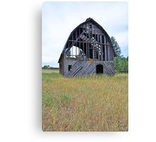 Washington Barn Canvas Print