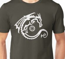 Dragon and Stone (for dark t-shirts) Unisex T-Shirt