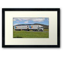 SRG Logistics - Hobart Tasmania Framed Print
